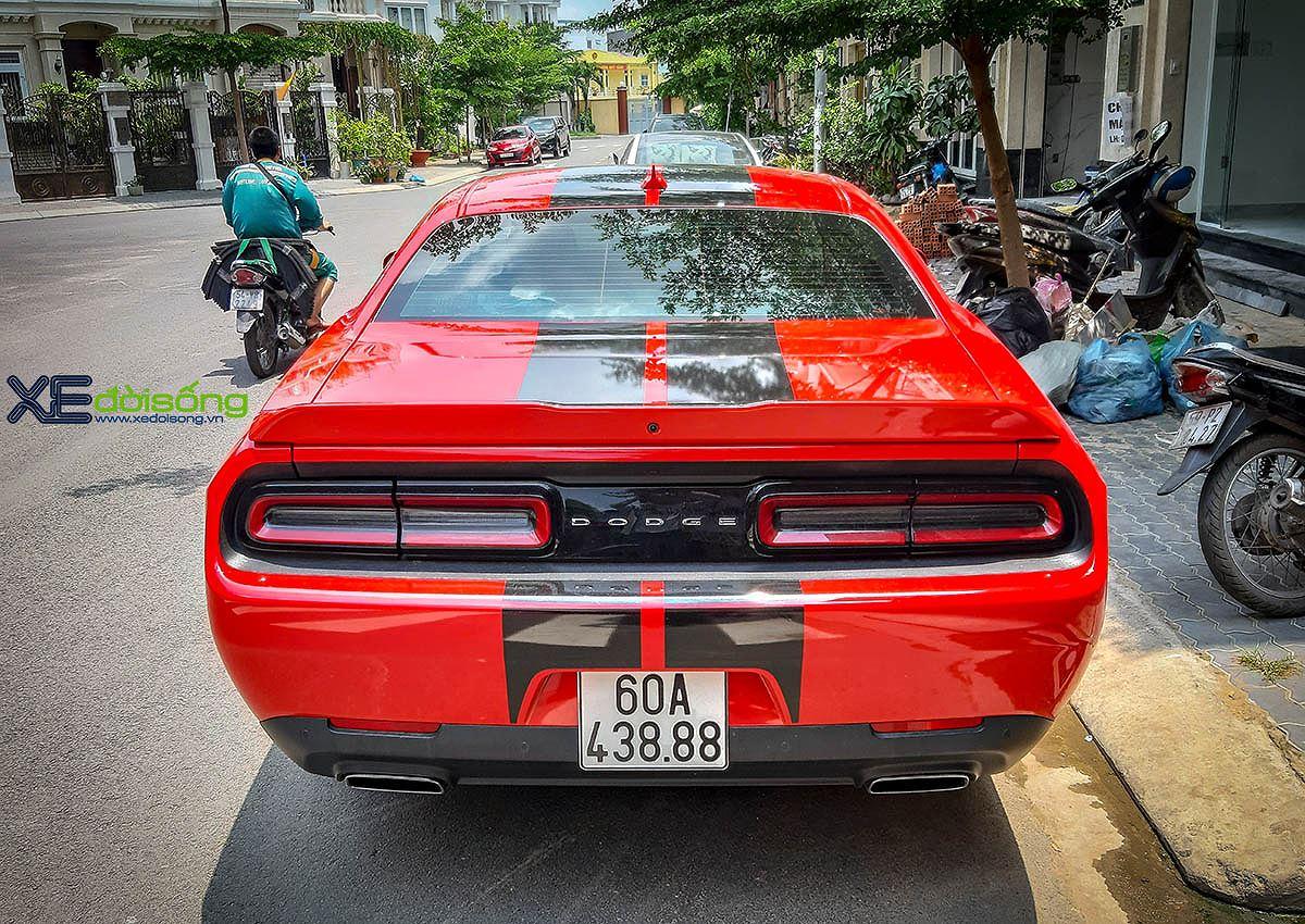 Chạm mặt hàng hiếm Dodge Challenger SXT của nữ nài cứng từ Đồng Nai - Hình 4