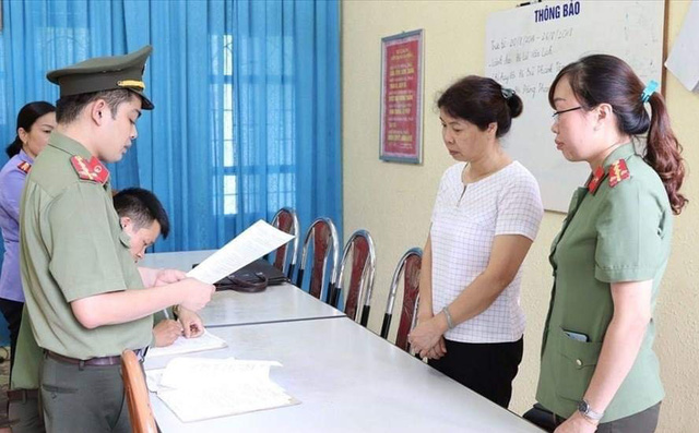 Gian lận điểm thi THPT ở Sơn La: Đề nghị truy tố 8 đối tượng - Hình 3
