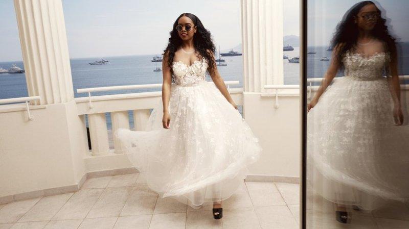 H&M đánh úp với BST hợp tác cùng NTK Giambattista Valli toàn váy đầm bung xòe - Hình 11