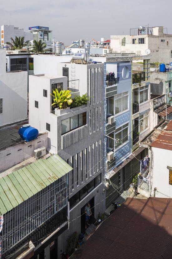 Nhà ống Sài Gòn kiểu dọc trên mảnh đất 18 m2 - Hình 1