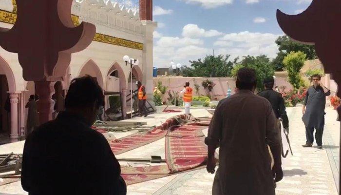 Nổ nhà thờ Hồi giáo ở Pakistan, 17 người thương vong - Hình 2