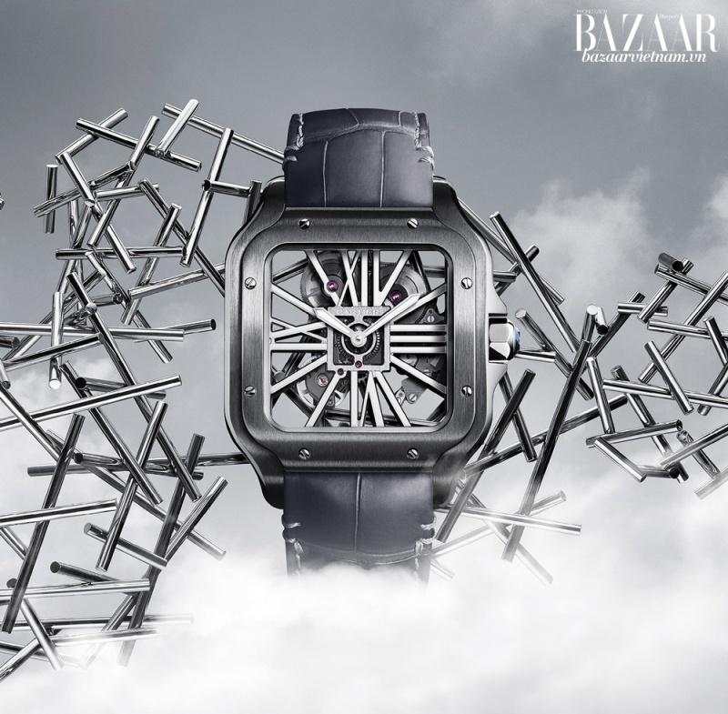 Vẻ đẹp khác biệt của đồng hồ Cartier tại triển lãm SIHH 2019 - Hình 3