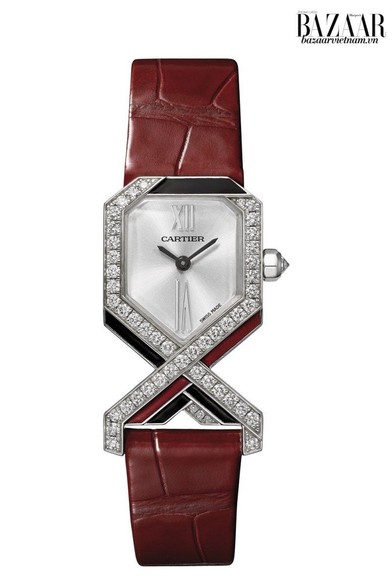 Vẻ đẹp khác biệt của đồng hồ Cartier tại triển lãm SIHH 2019 - Hình 4