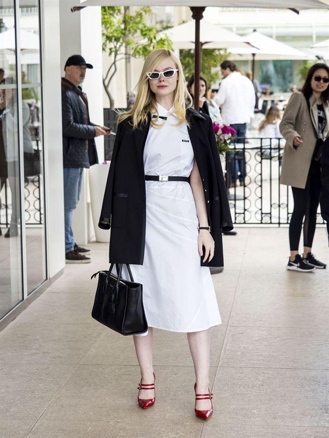Giám khảo trẻ tuổi nhất tại Cannes 2019 - Elle Fanning là nữ hoàng thời trang đích thực - Hình 13