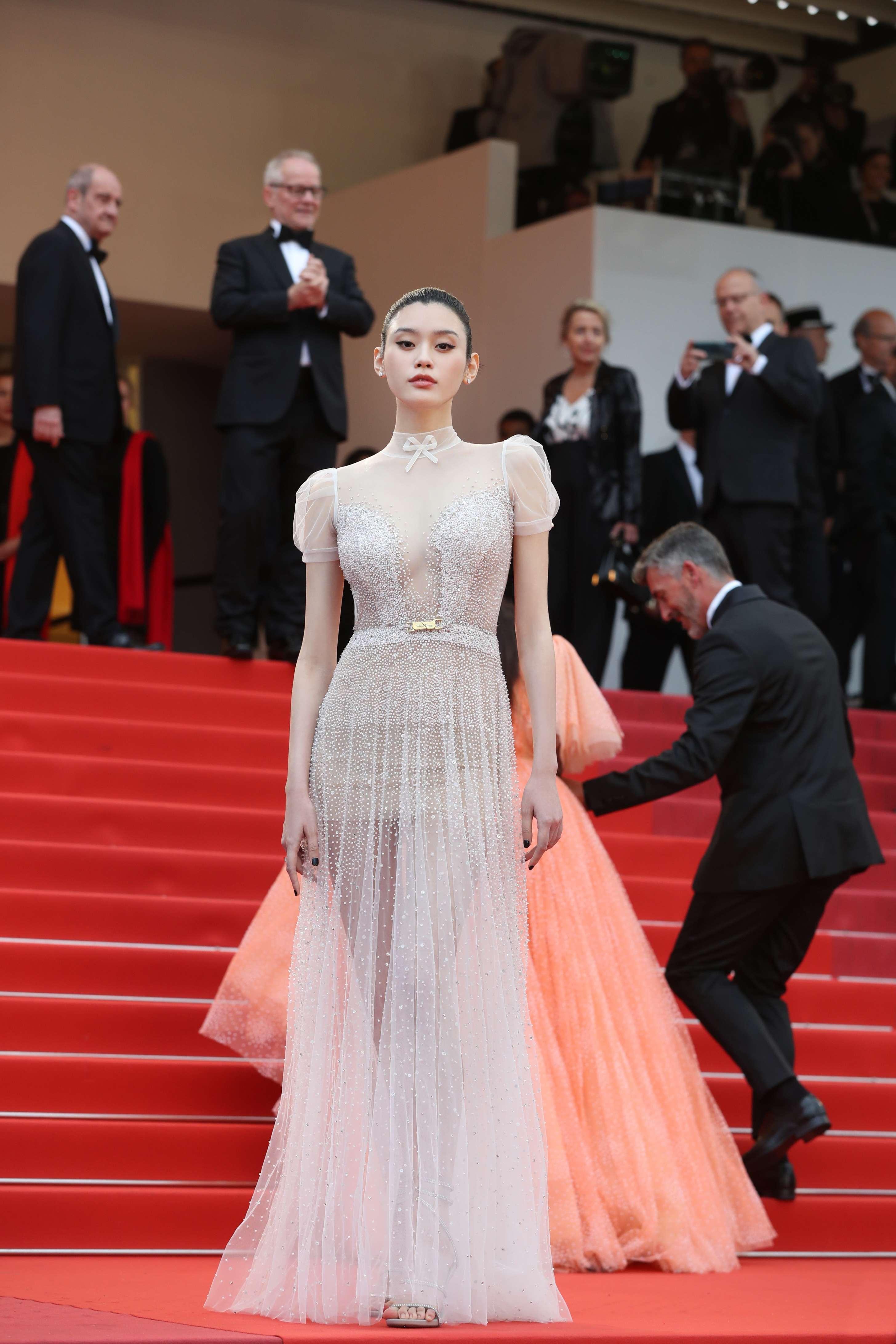 Jessica Jung, Chompoo Araya và dàn sao châu Á đọ sắc trên thảm đỏ Cannes 2019 - Hình 9