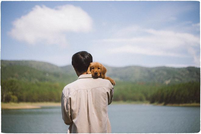 Ngắm bộ ảnh trai đẹp du lịch cùng cún cưng này mới thấy: Đi Đà Lạt với người yêu hay bạn thân là xưa rồi! - Hình 17