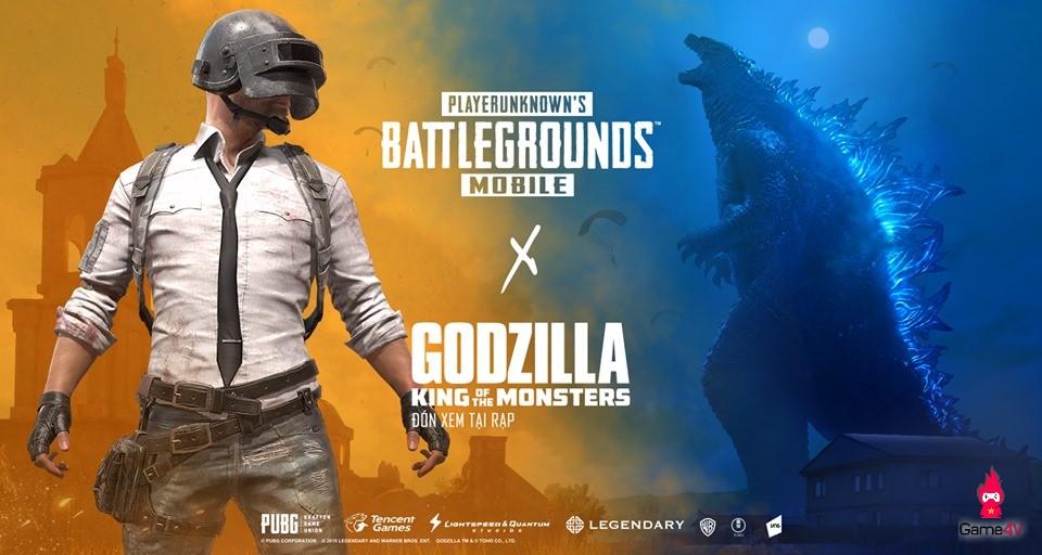 Người chơi PUBG Mobile thích thú với hình Graffiti những siêu quái vật trong bộ phim Chúa tể Godzilla tại bản đồ Miramar - Hình 1