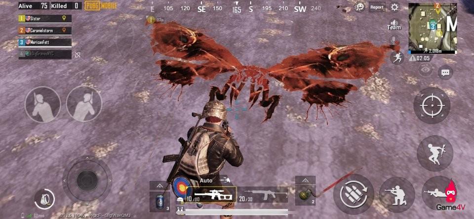 Người chơi PUBG Mobile thích thú với hình Graffiti những siêu quái vật trong bộ phim Chúa tể Godzilla tại bản đồ Miramar - Hình 6