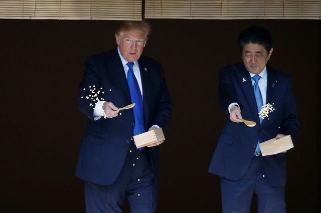 Nhật Bản tăng cường an ninh cao nhất cho chuyến thăm của Tổng thống Trump - Hình 1