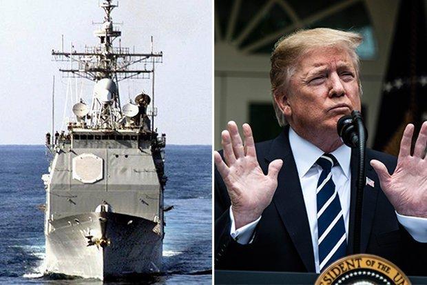 Nóng : Iran đe dọa có vũ khí bí mật đánh chìm tàu chiến Mỹ - Hình 1