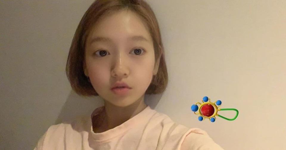 Park Shin Hye khoe ảnh trẻ thơ mặt búng ra sữa nhưng sự thật lại khiến ai nấy ngã ngửa - Hình 1