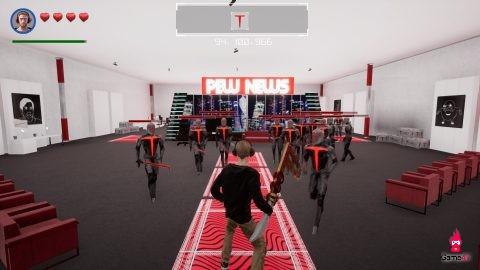 Pew Dew Redemption - game bựa biến PewDiePie thành anh hùng cứu thế giới khỏi tập đoàn tội ác T-Series - Hình 1