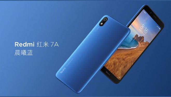 Xiaomi Redmi 7A ra mắt: Snapdragon 439, pin 4000mAh - Hình 1