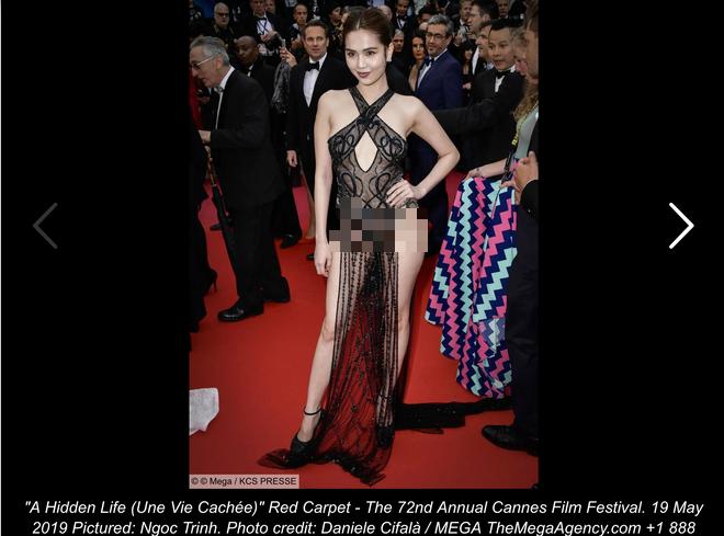 Người Pháp nhận xét về Ngọc Trinh: Nên cấm những cô gái này trên thảm đỏ LHP Cannes - Hình 2