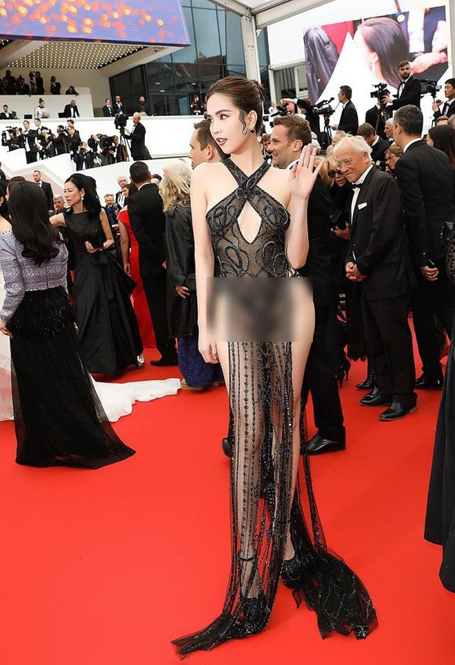 Truyền thông và netizen nước ngoài phản ứng gay gắt về Ngọc Trinh tại Cannes: Báo Anh, Pháp không gắt bằng xứ Trung - Hình 2
