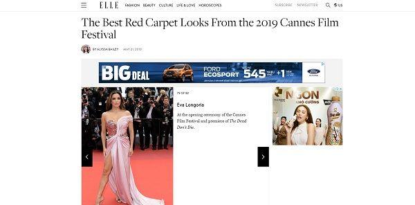 Bộ váy tai tiếng của Ngọc Trinh không hề lọt Top trang phục đẹp nhất Cannes trên tạp chí uy tín - Hình 3