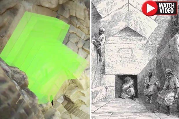 Đã có cách khám phá căn phòng bí mật trong đại kim tự tháp Giza? - Hình 1