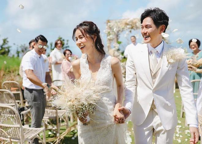 Đám cưới cổ tích bất ngờ của cặp đôi mỹ nam Cung Tâm Kế và nữ diễn viên Mái Ấm Gia Đình sau 5 năm bên nhau - Hình 1