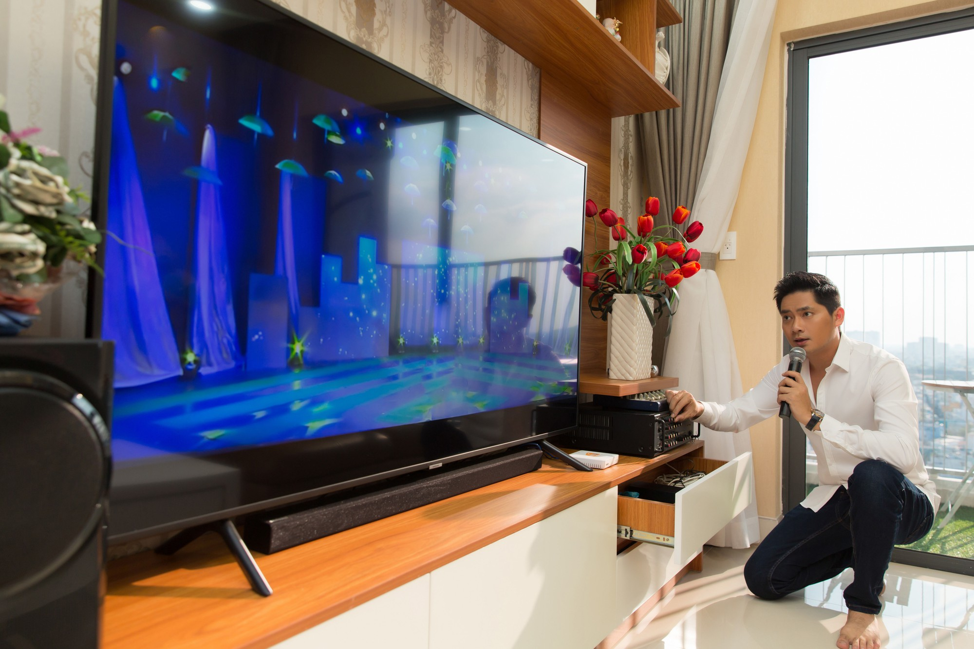 Diễn viên Minh Luân tự hào khoe căn hộ rộng 100 m2 sau 10 năm lập nghiệp ở TP HCM - Hình 9