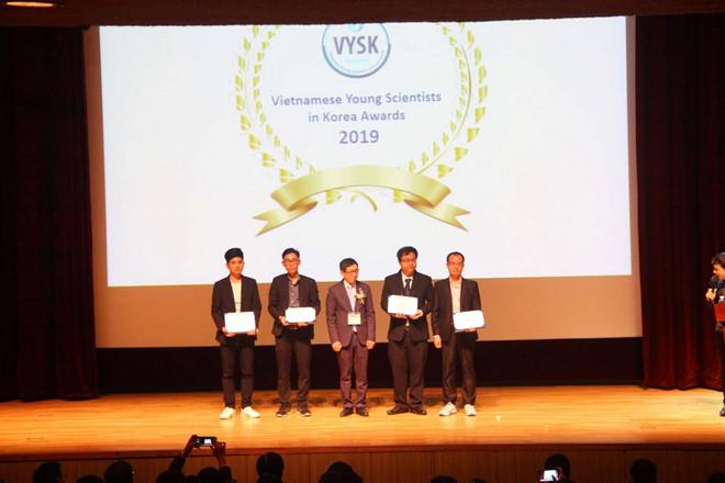 Du học sinh Việt nhận giải Nhà khoa học xuất sắc tại Hàn Quốc - Hình 1