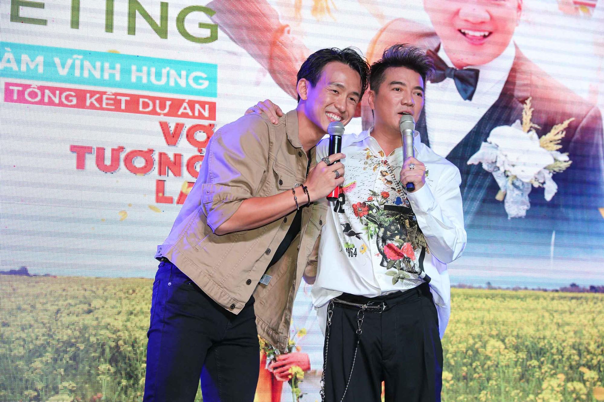 Xúc động câu chuyện chàng trai khuyết tật vượt 12 tiếng từ Đồng Nai lên TP HCM gặp Đàm Vĩnh Hưng - Hình 2