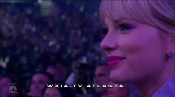 Loạt biểu cảm fangirl thần thánh của Taylor Swift tại BBMAs 2019 khi thần tượng Mariah Carey lên nhận giải - Hình 6