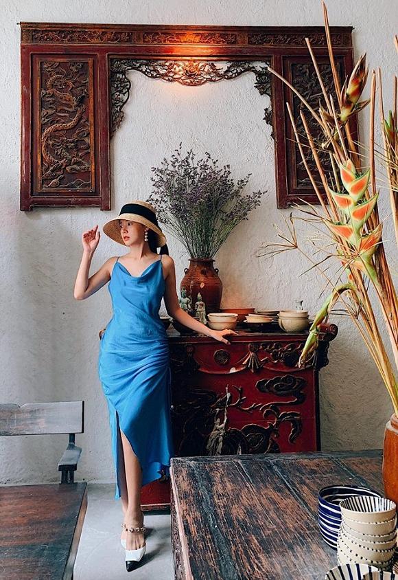Thánh tiết kiệm showbiz gọi tên Midu: mua 1 mẫu váy nhưng 6 màu khác nhau rồi mặc đi mặc lại - Hình 12