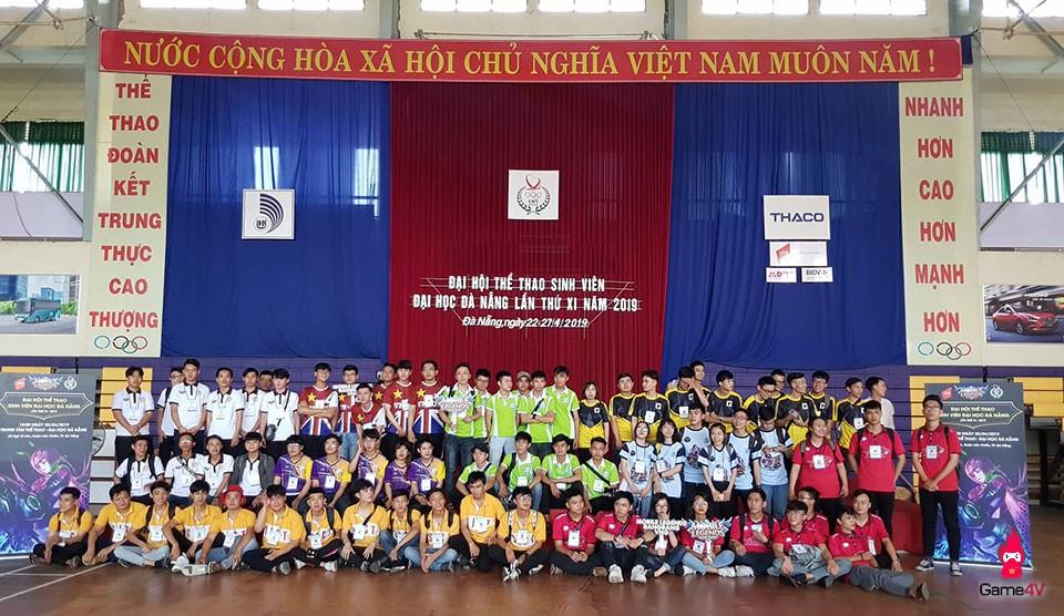 Mobile Legends: Bang Bang VNG được thi đấu tại Đại hội Thể thao sinh viên Đại học Đà Nẵng lần thứ XI - 2019 - Hình 1
