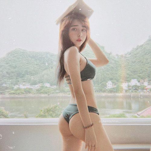 Ngắm thân hình vạn người mê của nữ gymer hot nhất nhì Việt Nam từng lên báo Trung - Hình 10