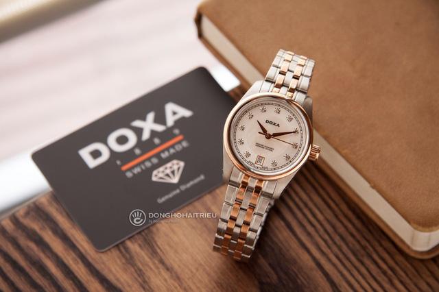 5 mẫu đồng hồ màu vàng hồng, có đính kim cương thật - Hình 1