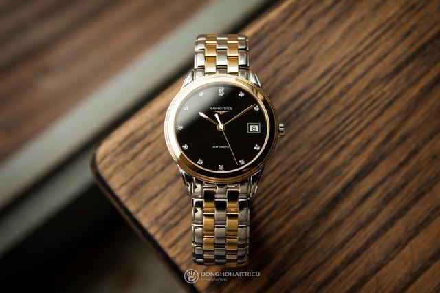 5 mẫu đồng hồ màu vàng hồng, có đính kim cương thật - Hình 5