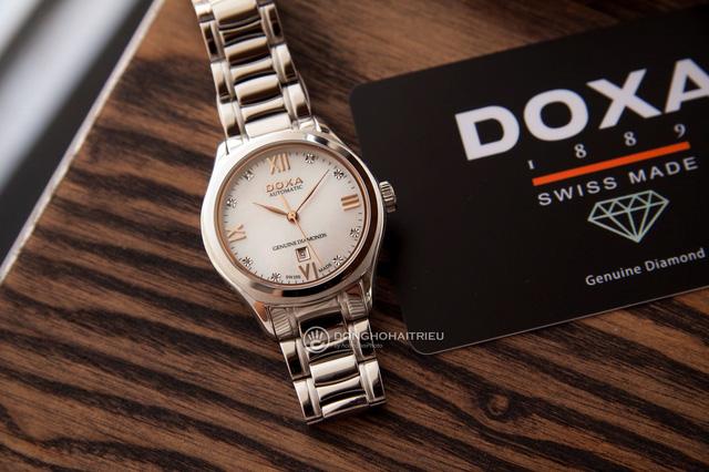 5 mẫu đồng hồ màu vàng hồng, có đính kim cương thật - Hình 2