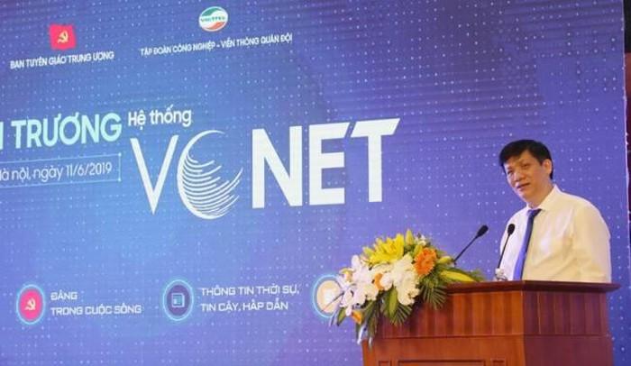 Ban Tuyên giáo Trung ương ra mắt mạng xã hội VCNET - Hình 1