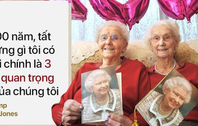 Cặp song sinh 100 tuổi: Tất cả bí quyết sống thọ chỉ là làm tốt 3 việc đơn giản hàng ngày - Hình 1