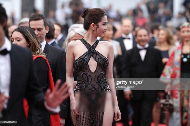 Chẳng giống khán giả Việt, công chúng quốc tế hết lời khen ngợi Ngọc Trinh ở Cannes - Hình 2