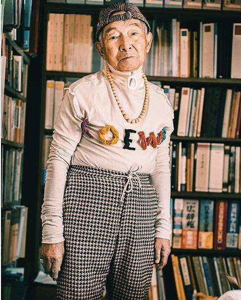 Choáng với độ ngầu ông nội thời trang Nhật Bản - Hình 11