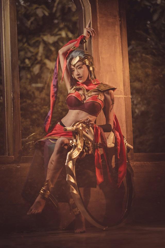 Cosplay nữ sát thủ Yena đẹp tuyệt trong Liên Quân Mobile - Hình 1