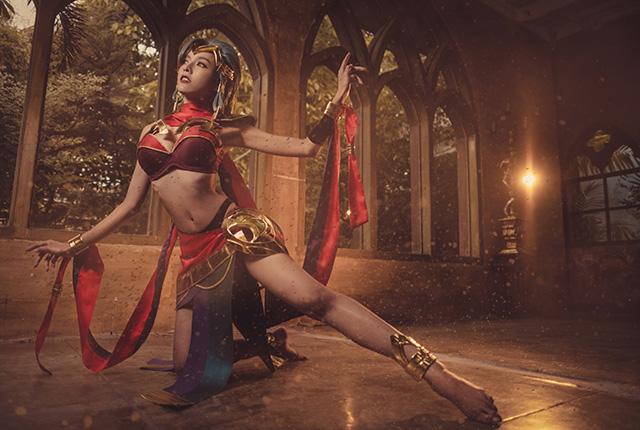 Cosplay nữ sát thủ Yena đẹp tuyệt trong Liên Quân Mobile - Hình 6