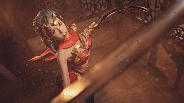 Cosplay nữ sát thủ Yena đẹp tuyệt trong Liên Quân Mobile - Hình 3