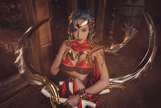 Cosplay nữ sát thủ Yena đẹp tuyệt trong Liên Quân Mobile - Hình 10