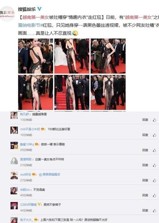 Đã qua hơn 20 ngày nhưng hình ảnh Ngọc Trinh hở bạo tại Cannes vẫn hot và được lên báo Úc - Hình 4