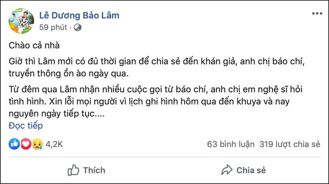 Giữa ồn ào Lê Dương Bảo Lâm bị đánh khi phát cơm từ thiện, MC Nguyên Khang nói gì mà nhận được sự đồng tình? - Hình 1
