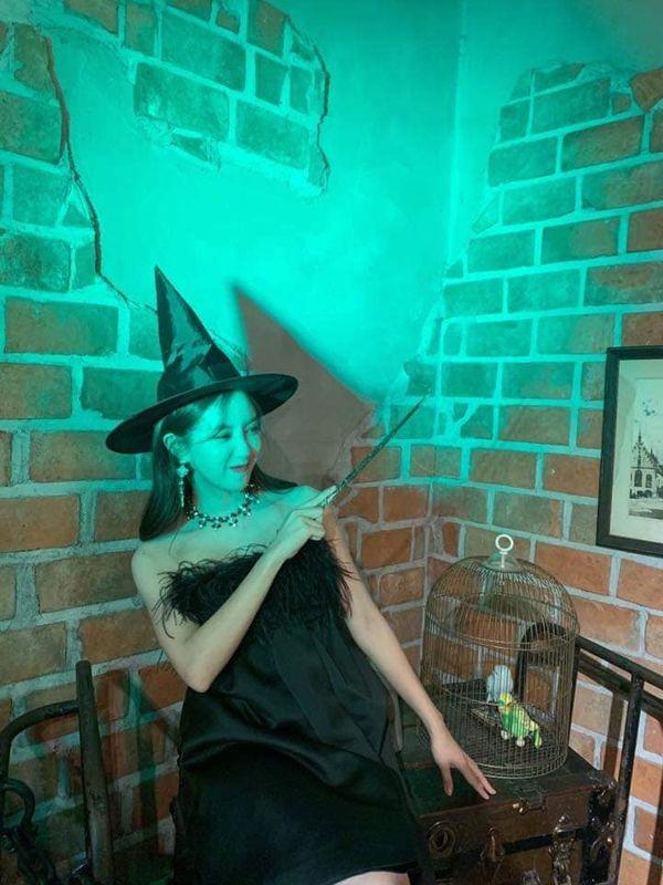Hyomin khiến nhiều người mê mẩn nhan sắc ngọt ngào khi hóa thân thành cô phù thủy nhỏ - Hình 6