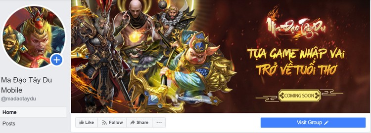 Ma Đạo Tây Du Mobile hé lộ hình ảnh Việt hóa, ra mắt Fanpage tại Việt Nam - Hình 1