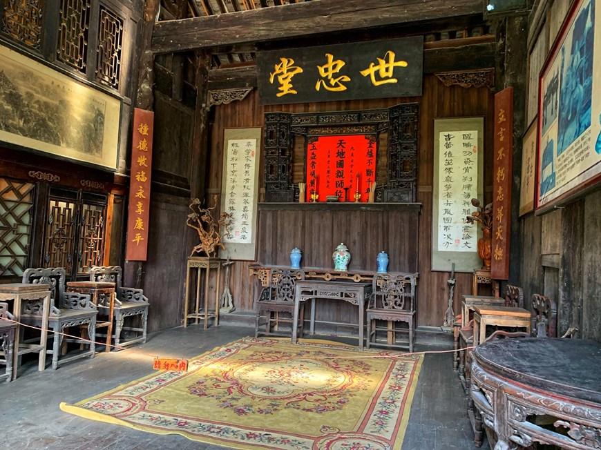 [Photo] Phù Dung trấn: Làng cổ kỳ bí nghìn năm 'treo' trên thác nước - Hình 5