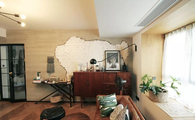 Căn hộ 110m² quyến rũ theo phong cách Retro của cô gái độc thân - Hình 3
