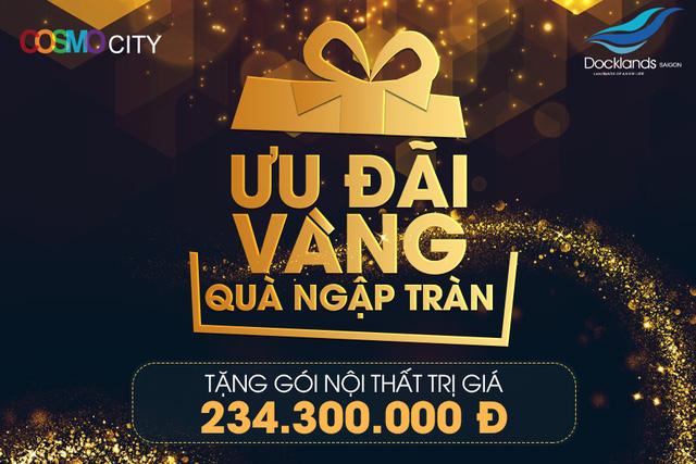 Chủ đầu tư Tập Đoàn Bảo Gia tặng hơn 230 triệu cho khách hàng Cosmo City và Docklands Sài Gòn - Hình 2