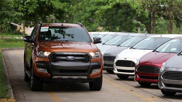 Ford Việt Nam triệu hồi 9.800 xe bán tải Ranger - Hình 1
