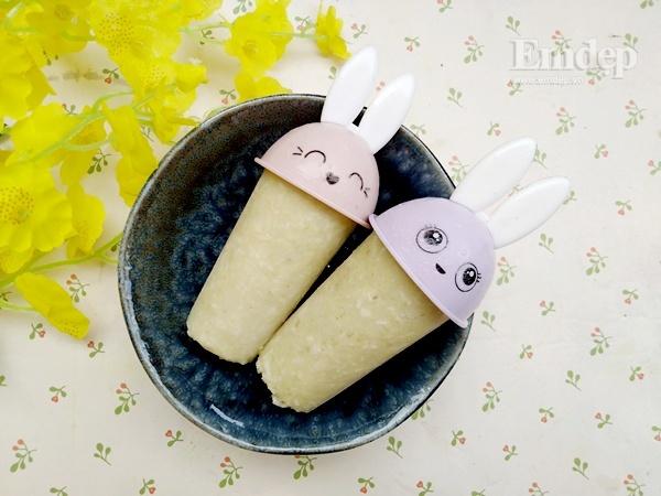 Làm kem dừa khoai lang ngọt thanh, thơm mát đánh bay nắng nóng - Hình 1