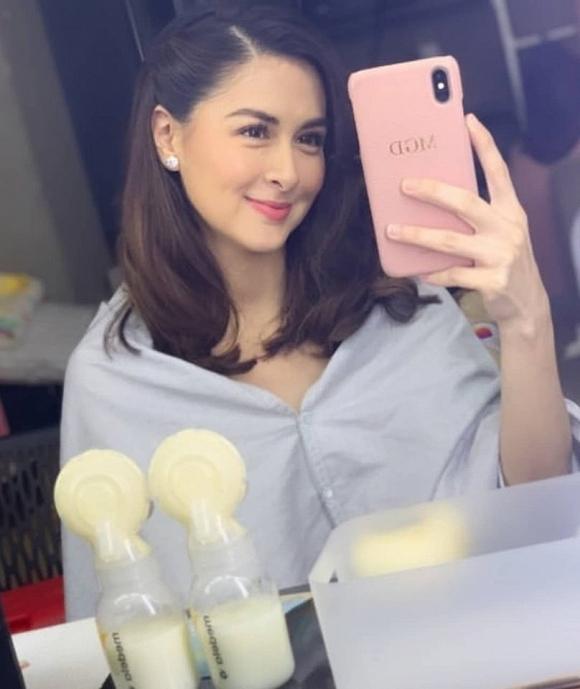 Mỹ nhân đẹp nhất Philippines khoe nhan sắc khi trở lại với công việc sau 1 tháng sinh con nhưng đây mới là điều khiến chị em trầm trồ - Hình 3